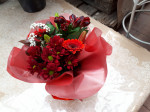Bouquet bulle rouge 1
