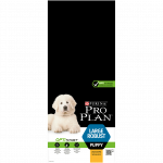 PRO PLAN LARGE ROBUST PUPPY AVEC OPTISTART RICHE EN POULET - 12 KG