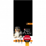 PRO PLAN MEDIUM ADULT AVEC OPTIBALANCE RICHE EN POULET - 14 KG