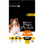 PRO PLAN ALL SIZES ADULT LIGHT / STERILISED AVEC OPTIWEIGHT RICHE EN POULET - 3 KG
